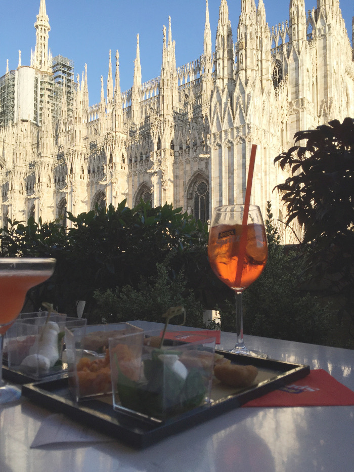 Girlsweekend in Mailand: Rooftop Bar Duomo 21, Mailand